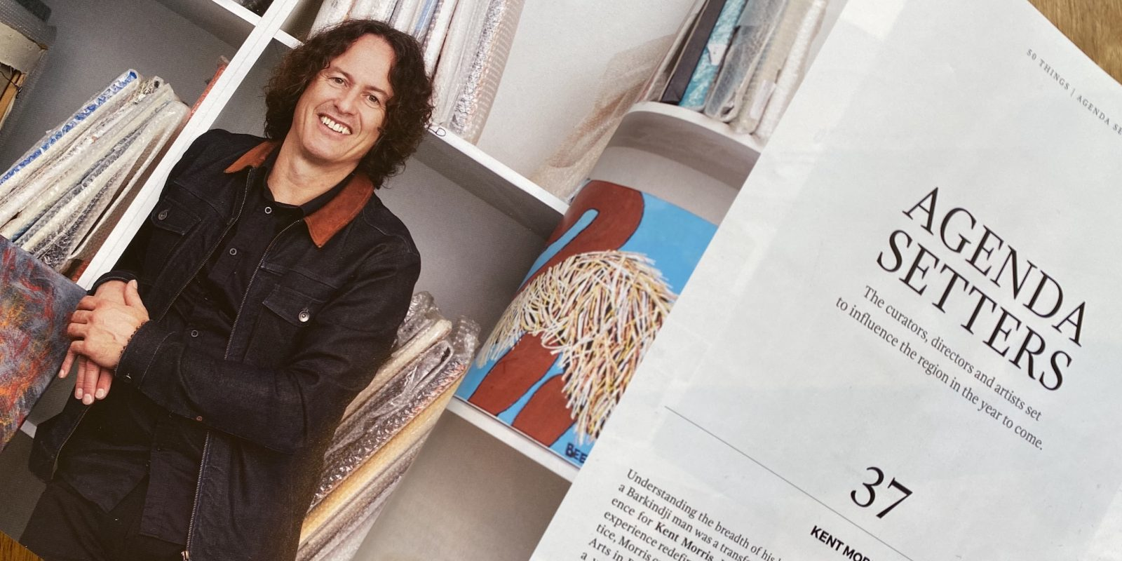 CEO Kent Morris in Art Collector Magazine